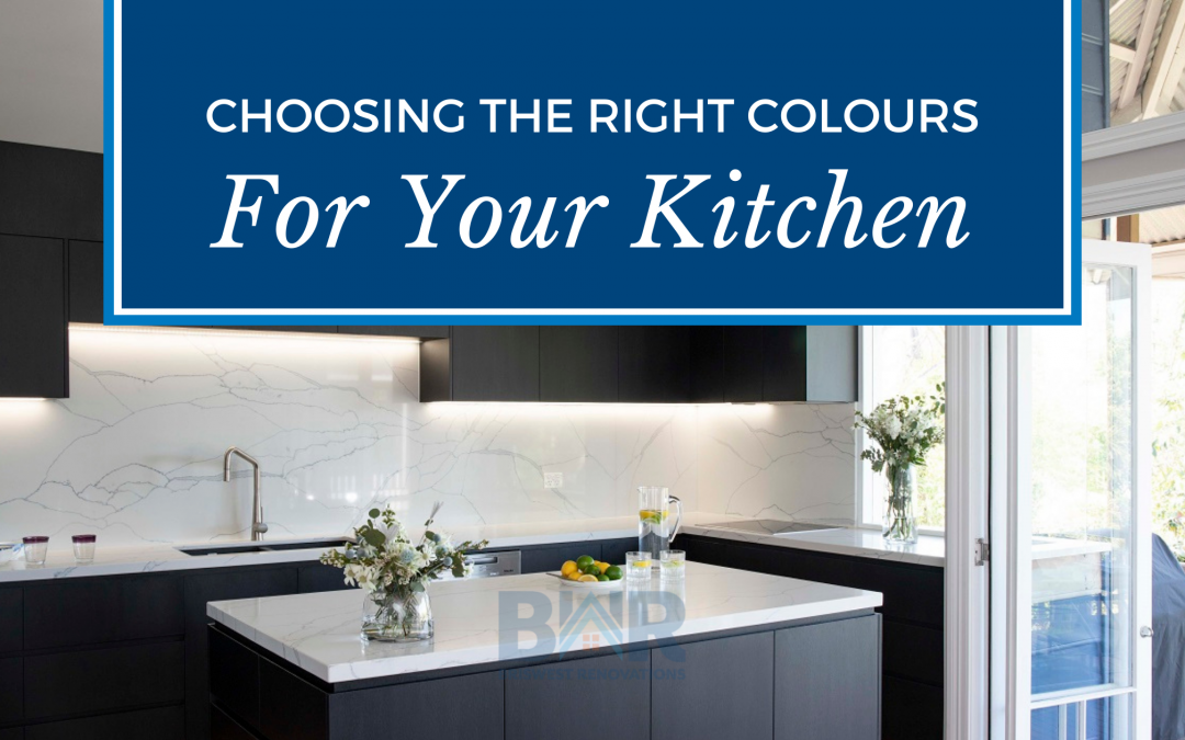 Choosing the Right Colours for Your Kitchen
